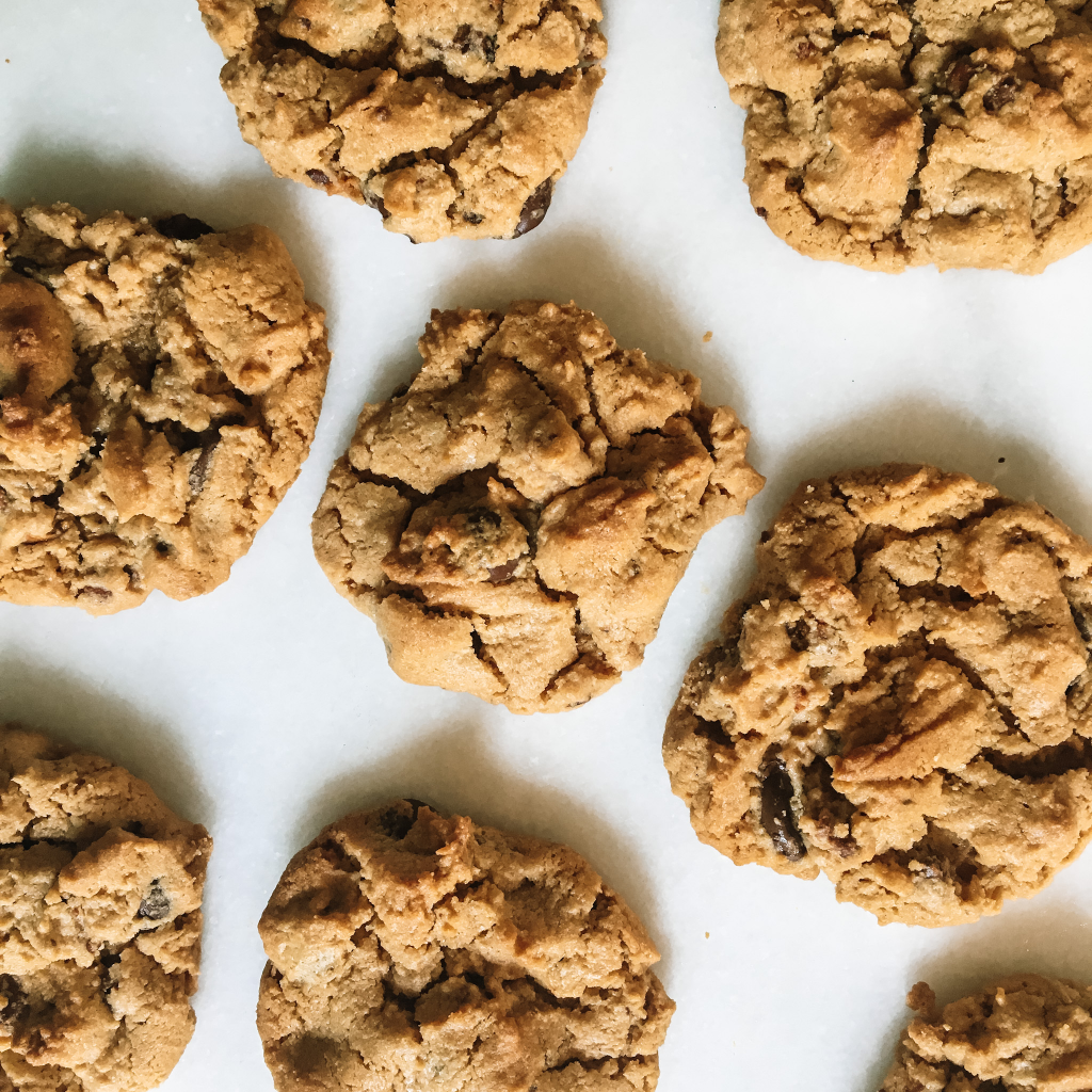 Soft baked peanut butter protein cookies zoom